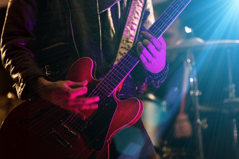 ロックギターからジャズギターへ
